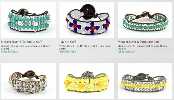 Colorful Cuffs from Rags Design