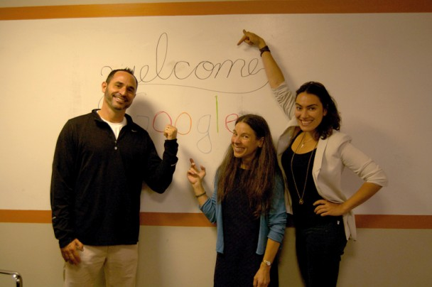 Google paid a visit to Ninthlink Friday May 17. 2013