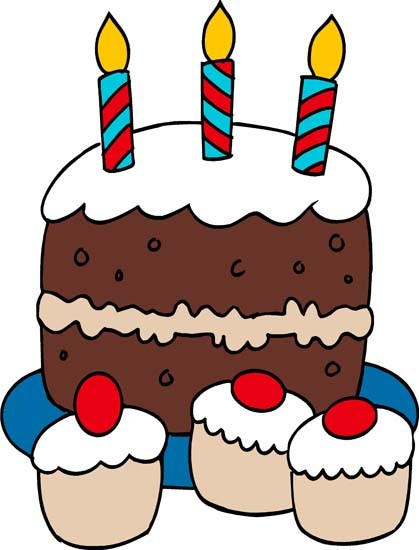 Clipart Birthday Cake