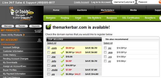 themarkerbar.com ?