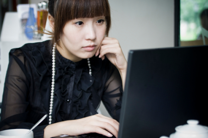chinese-woman-at-computer