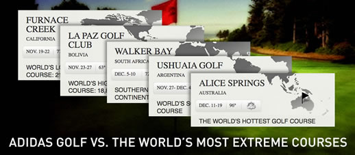 Adidas vs the worlds most extreme golf courses