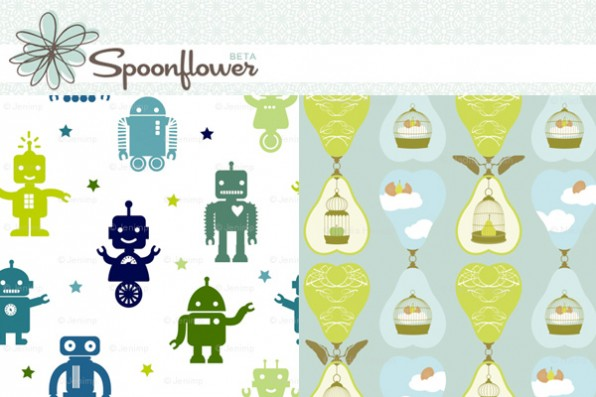 Create your own fabric designs  Thanks Spoonflower – Ninthlink