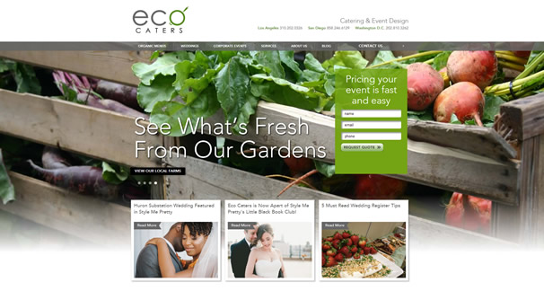 Organic Caterers Eco Caters