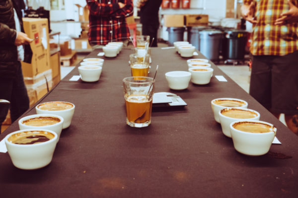 Swell Coffee Co. Hosted Our Team for a Cupping Event.